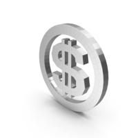 Dollar Metal PNG & PSD Images