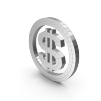 Dollar Metal with Rivets PNG & PSD Images