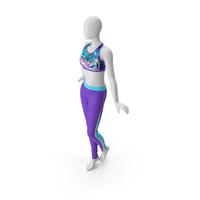 Female Sport Suit PNG & PSD Images