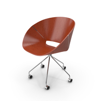 Lipse Five Prong Caster Chair PNG & PSD Images