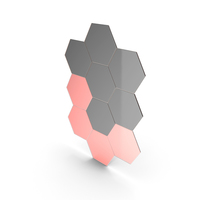 Hexagon Mirror PNG & PSD Images