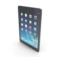 Apple iPad Air 2 Grey PNG & PSD Images