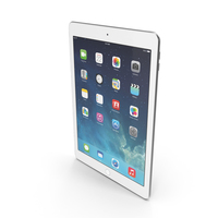 Apple iPad Air 2 Silver PNG & PSD Images