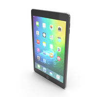 Apple iPad Mini 4 Space Grey PNG & PSD Images