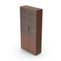 Display Cabinet Brown PNG & PSD Images