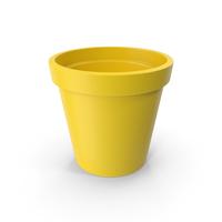 Ceramic Pot Yellow PNG & PSD Images