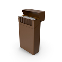 Cigarette Pack Brown PNG & PSD Images