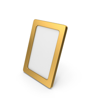Photo Frame Gold PNG & PSD Images
