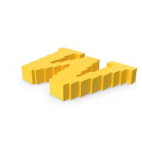 Stylised Cartoon Voxel Pixel Art Letter W on Ground PNG & PSD Images