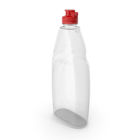 Empty Dishwashing Bottle PNG & PSD Images