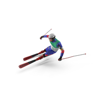 Extreme Downhill Skier PNG & PSD Images