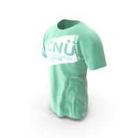 T-shirt on Model PNG & PSD Images