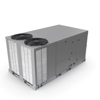 2 Vents Rooftop Air Conditioning System New PNG & PSD Images