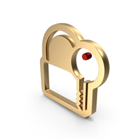 Unlock Key Password Logo Icon PNG & PSD Images