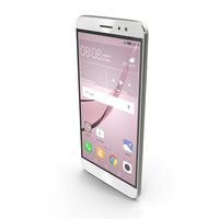 Huawei Nova Plus Mystic Silver PNG & PSD Images