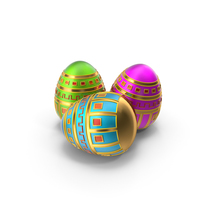Easter Eggs PNG & PSD Images