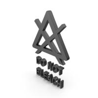 Textile Care Symbol Do Not Bleach PNG & PSD Images