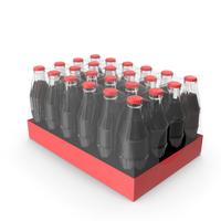 24 Soda Glass Bottle Case PNG & PSD Images