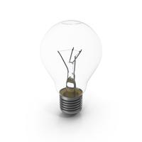 Incandescent Light Bulb E27 (Edison 27 mm) PNG & PSD Images