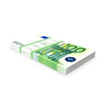 100 Euro Bundle Banknotes PNG & PSD Images