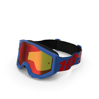 100 Strata Goggles Blue PNG & PSD Images