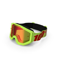 100 Strata Goggles Yellow PNG & PSD Images