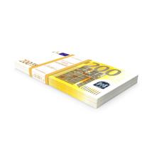 200 Euro Bundle Banknotes PNG & PSD Images