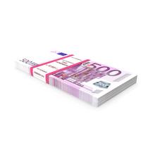 500 Euro Bundle Banknotes PNG & PSD Images