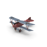Albatros D.III Mandfred von Richthofen PNG & PSD Images