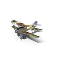 Albatros D.III Werner Voss PNG & PSD Images