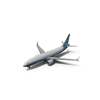 Boeing 737-8 MAX PNG & PSD Images