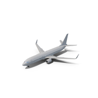Boeing 737-800 Generic White PNG & PSD Images