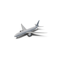 Boeing 777-8 Generic White PNG & PSD Images