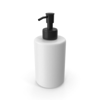 Soap Dispenser Black and White PNG & PSD Images