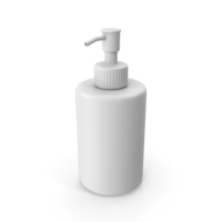 Soap Dispenser White PNG & PSD Images