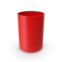 Bathroom Cup Red PNG & PSD Images