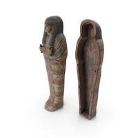 Ancient Egyptian Sarcophagus PNG & PSD Images