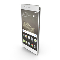Huawei P10 Plus Mystic Silver PNG & PSD Images