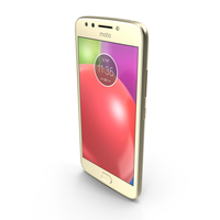 Motorola Moto E4 (USA) Fine Gold PNG & PSD Images