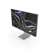 Apple Pro Display XDR with Stand PNG & PSD Images