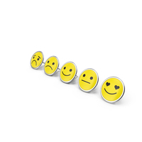 Assorted Smiley Face Pins PNG & PSD Images