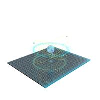 Asteroid Hologram PNG & PSD Images
