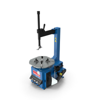 Automotech AS-24SA Semi-Automatic Tire Changer PNG & PSD Images