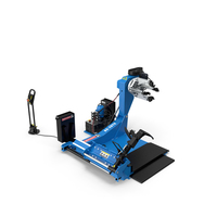 Automotech AS-26TC Truck Tire Changing Machine PNG & PSD Images