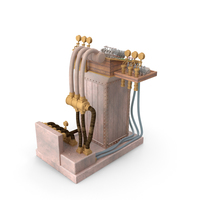 Steampunk Computer PNG & PSD Images