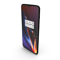 OnePlus 6T Mirror Black PNG & PSD Images