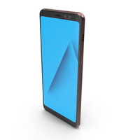 Samsung Galaxy A8 2018 Blue PNG & PSD Images