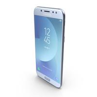 Samsung Galaxy J5 2017 Blue PNG & PSD Images