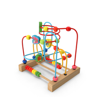 Baby Learning Early Education Wooden Maze PNG & PSD Images