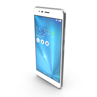 Asus ZenFone 3 Zoom Glacier Silver PNG & PSD Images